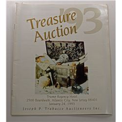 Joseph P. Trabucco Auctioneers, Inc. TREASURE AUCTION '93