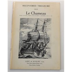 Parke-Bernet Galleries, Inc. RECOVERED TREASURE FROM LE CHAMEAU