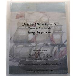Daniel Frank Sedwick, LLC. (Signed) DANIEL FRANK SEDWICK COMPLETE SET OF TREASURE AUCTION SALE CATAL