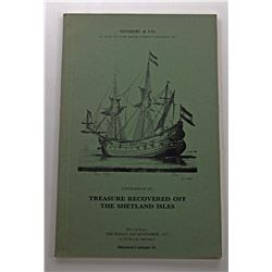 Sotheby & Co. CATALOG OF TREASURE RECOVERED OFF THE SHETLAND ISLES