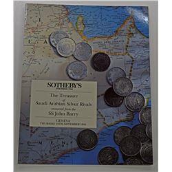 Sotheby's Geneva. THE TREASURE OF SAUDI ARABIAN SILVER RIYALS RECOVERED FROM THE S.S. JOHN BARRY