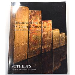 Sotheby's New York. TREASURES FROM THE SS CENTRAL AMERICA - GLORIES OF THE CALIFORNIA GOLD RUSH