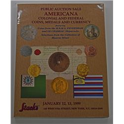 Stack's. AMERICANA, COLONIAL AND FEDERAL COINS, MEDALS, AND CURRENCY FEATURING COINS FROM THE H.M.S.
