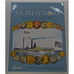 Stack's. TREASURE FROM THE S.S. NEW YORK AND OTHER IMPORTANT PROPERTIES