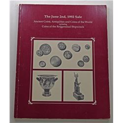Superior Galleries. ANCIENT COINS, ANTIQUITIES AND COINS OF THE WORLD INCLUDING COINS OF THE REIJGER
