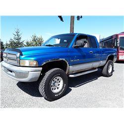 G6 --  1999 DODGE/RAM 1500 , Blue , 271528  KM's
