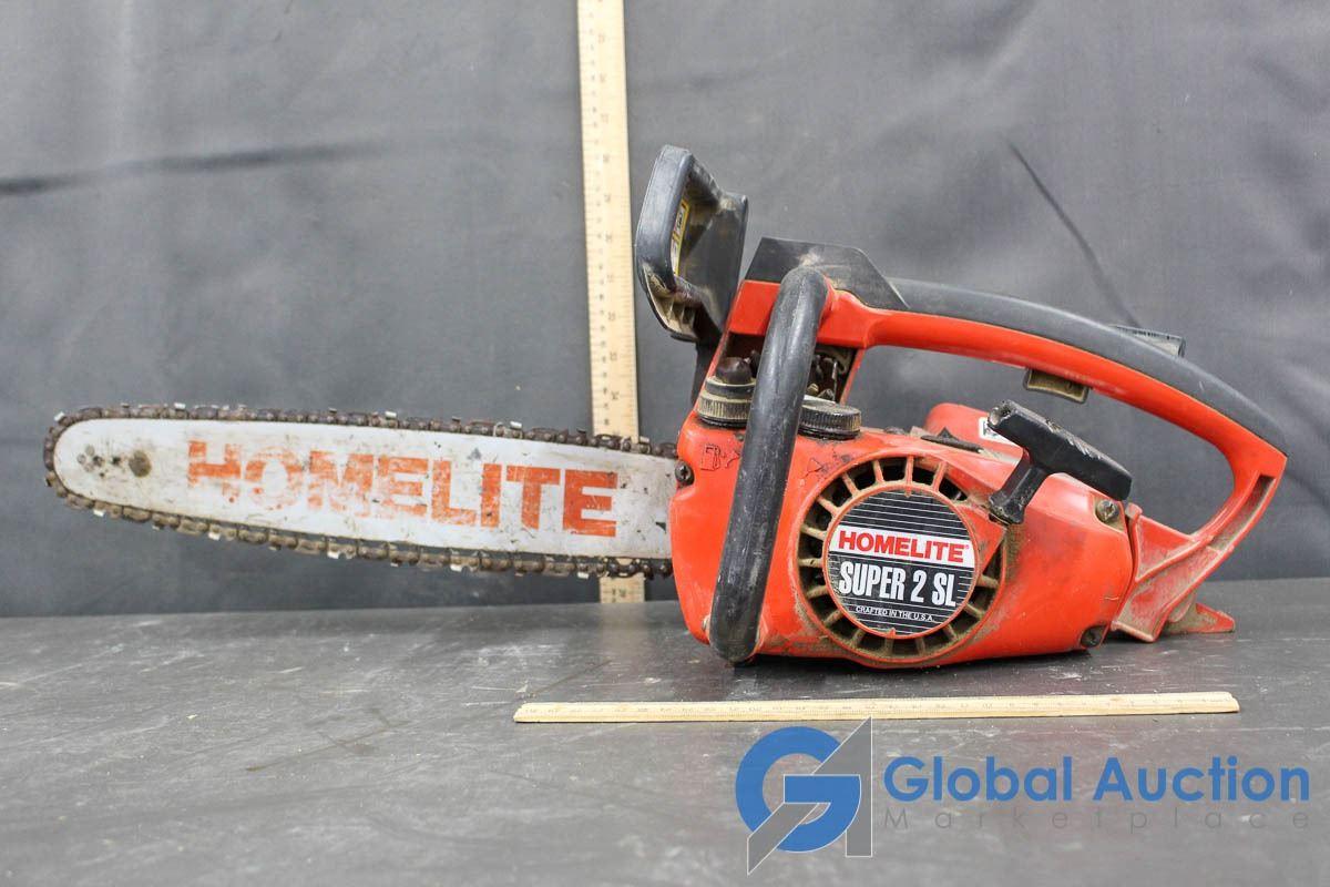 Homelite Super 2 SL Gas Powered Chainsaw