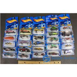 (25) NIB Hot Wheels (Sold Choice)