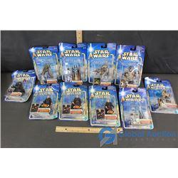 (10) NIB Star Wars Action Figures