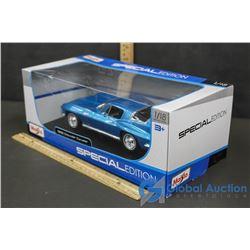 1:18 Scale Die-Cast 1965 Chevrolet Corvette Model