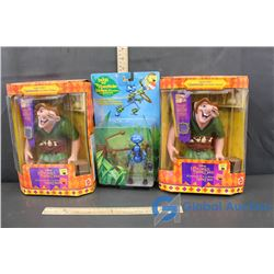 Disney's Hunchback of Notre Dame Magic View Quasimodo and a Bugs Life Toy