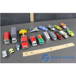 Small Cars and Trucks - Dinky Toys, Matchbox, Corgi Toys, Other