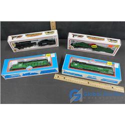 (4) NIB Train Engines - Bachmann, Model Power