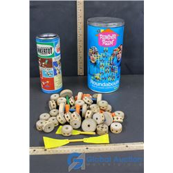TinkerToys with Extras and Romper Room