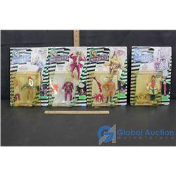 BeetleJuice Figurines in Packages (4)