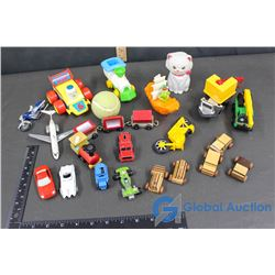 Toy Cars, Trains and Planes - Wooden, Plastic, Hot Wheels, etc.