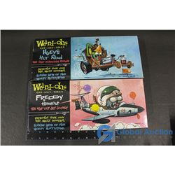 (2NIB) Weird-Ohs Car-Icky-Tures Classic Models - Huey's Hut Rod & Freddy Flameout