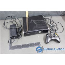 XBox 360 Slim W/ Power Cable and Controller
