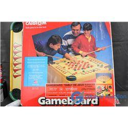 Carrom Gameboard 100+ Games