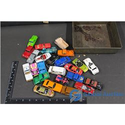 Tin Of Small Cars