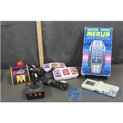 Vintage Handheld Electronic Games
