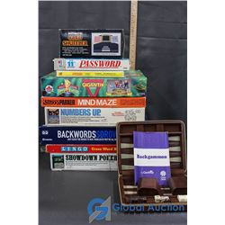 Assorted Games Boards & Games