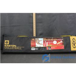 (N.I.B.) Easton VolleyBall Net & Ball With Carrying Bag
