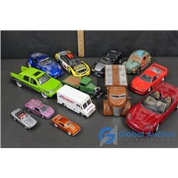 Assorted Die Cast Cars