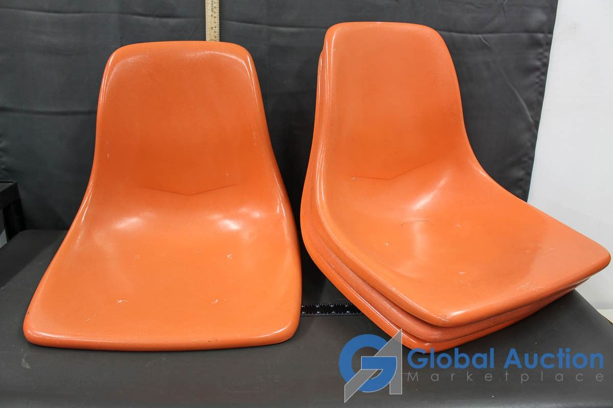 Astounding 4 Mid Century Modern Fiberglass Chair Seats Gmtry Best Dining Table And Chair Ideas Images Gmtryco