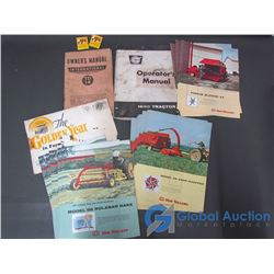 Vintage Farm Equipment Manuals, Flyers and Allis Chalmers Matchbooks