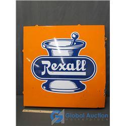 Rexall Porcelain Sign
