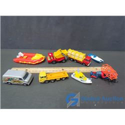 Assorted Toy Vehicles
