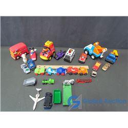 Assortment of Toys (Tonka, Matchbox, Sesame Street, etc)