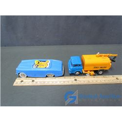 Toy Street Sweeper & Car