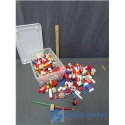 Vintage Lego & Tinker Toys