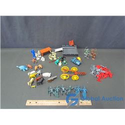 Bag of Miscellaneous Plastic Toys