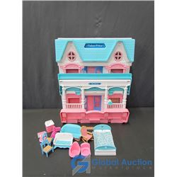 Fisher-Price Doll House with Accessories