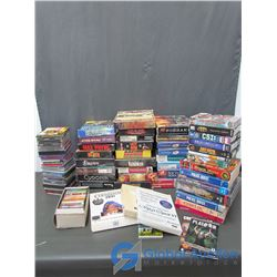Large Assortment of Computer Games & Collection of CD's and Cassettes