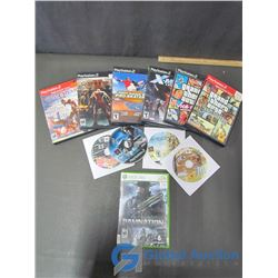Assorted Playstation 2 Games and 1 Xbox Game