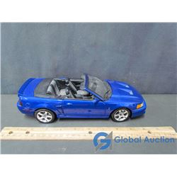 Die Cast Blue Ford Mustang Cobra Toy Car