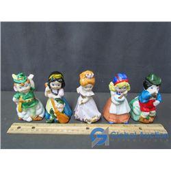 (5) Disney Collector Bells