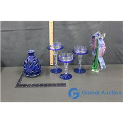 Candle Holders And Oil Burner