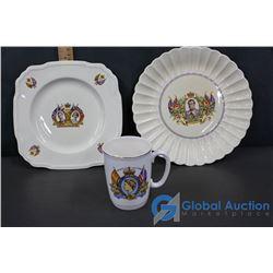 Souvenir Royalware Plates & Mug