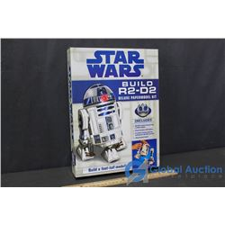 Star Wars Build R2-D2 Deluxe Paper Model Kit (Unused)