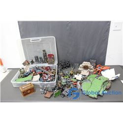 Set of Mega Bloks Dragons Metal Ages