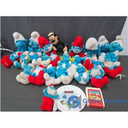 Smurf Stuffies, Plate and 8-Track Tape
