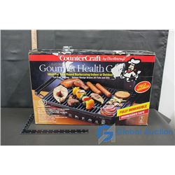 CounterCraft Electric Gourmet Health Grill