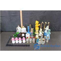 Assortment of Retro Avon Bottles