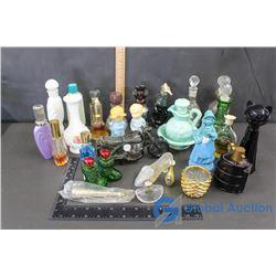 Assorted Avon Bottles, & Avon Items