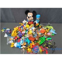 Assorted and Mickey Mouse Stuffy